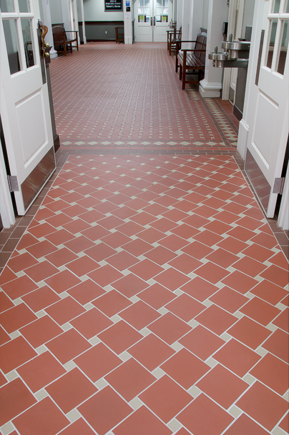 Brick Flooring Image Brick Floor Tile Stunning Design